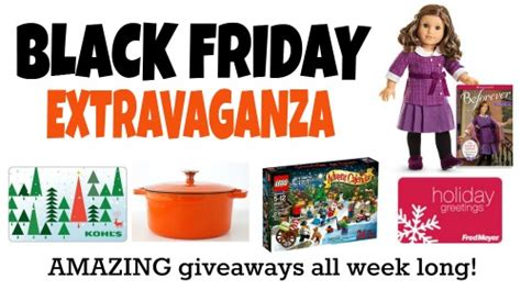 Black Friday Online Giveaways - frugal living nw helping you live well on a budget in the pacific northwest