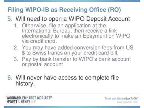 international bureau wipo patent cooperation treaty pct practice overview