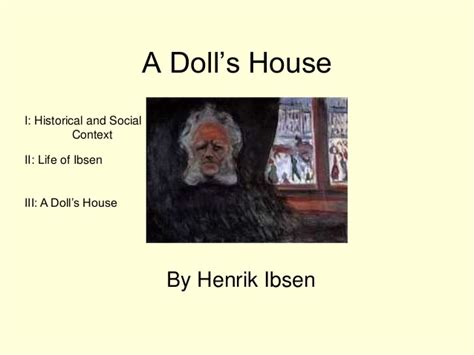 dolls house by henrik ibsen a doll s house