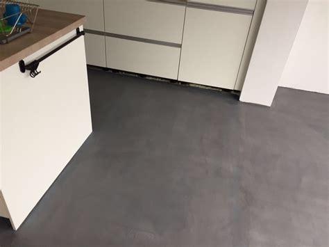 keuken vloer leef beton keukenvloer waterdichte betonlook vloer voor