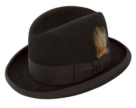 Hats To You by Stetson Homburg Godfather Hat