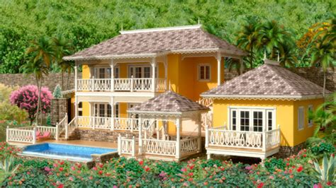 caribbean house plans house floor plan