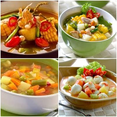 resep masakan aneka sayur sehat enak