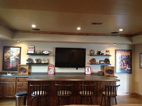 baseball themed basement bar home ideas simple basement bars and baseball