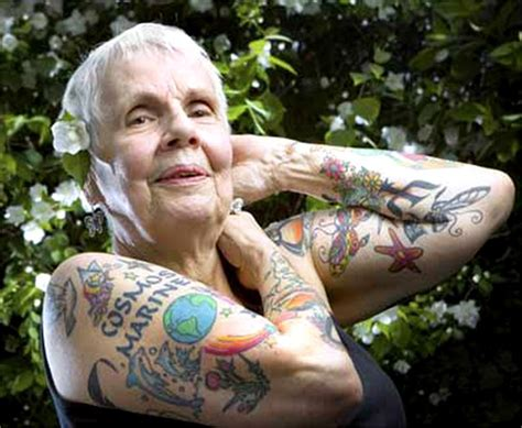 tattooed seniors tattooed seniors who look totally bad whimsy has no