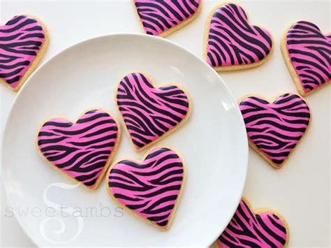 zebra pattern icing how to make zebra print cookiessweetambs