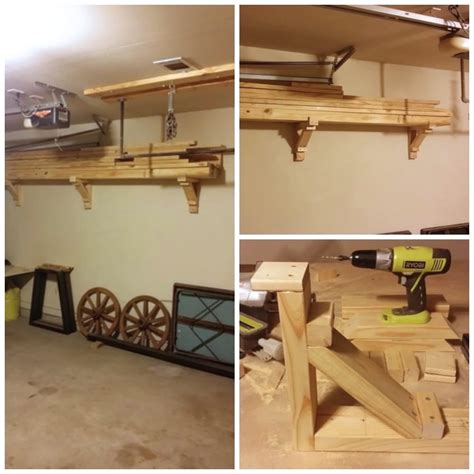 Kitchen Wall Cabinet Brackets by 6 Simple Diy Garage Storage Solutions You Can Do Today