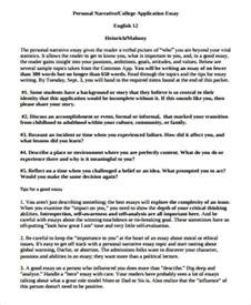 Narrative Essay On by Sle Narrative Essay 8 Exles In Word Pdf