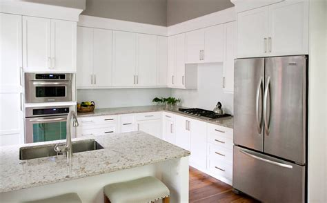 Awesome Plain White Kitchen Cabinets Greenvirals Style Plain White Kitchen Cabinets