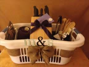 bridal shower gift basket ideas beautiful initials and personalized wedding on