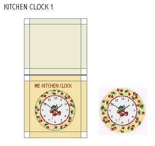 printable dollhouse clock me kitchen clock dollhouse printies 2 pinterest