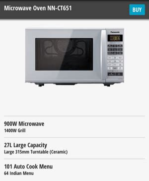 Oven Hock Ukuran Kecil harga microwave panasonic nn ct 651 pricenia