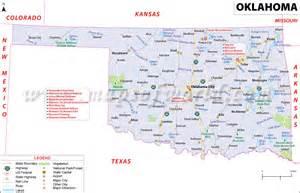 oklahoma border map подробная карта сша на русском языке штаты и города сша