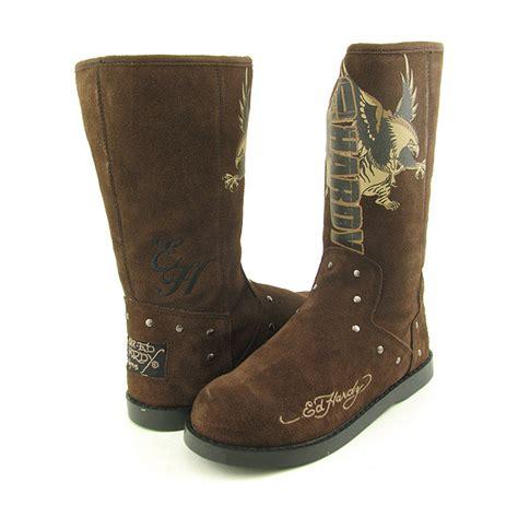 montana boots ed hardy montana boots snow shoes brown womens sz ebay