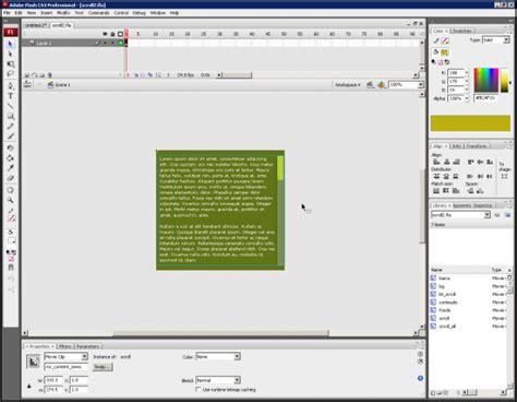 tutorial flash xml hacer un portafolio con flash y xml