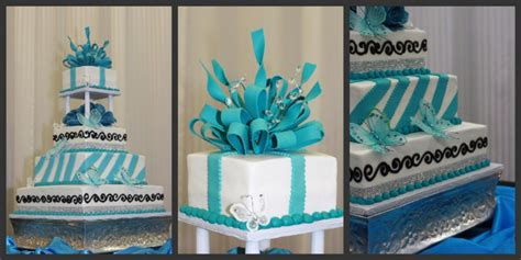 Quinceanera Cakes Near Me by Cakes For Quinceaneras In Blue