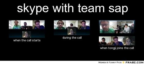 Sap Meme - skype with team sap meme generator what i do