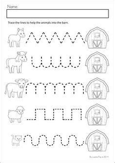 writing pattern exercises free farm worksheets for kindergarten google search