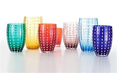 bicchieri di vetro colorati bicchieri bicchieri colorati calici degustazione