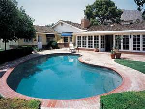 Home With Pool All Design News The Beauty Of California Ranch Style