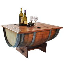 wine barrels furniture design