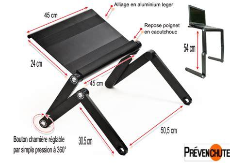 porte pc plateau support d ordinateur pc portable porte livre