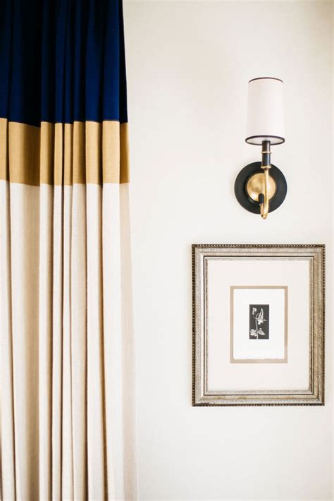 color block curtains the best curtains for modern interior decorating