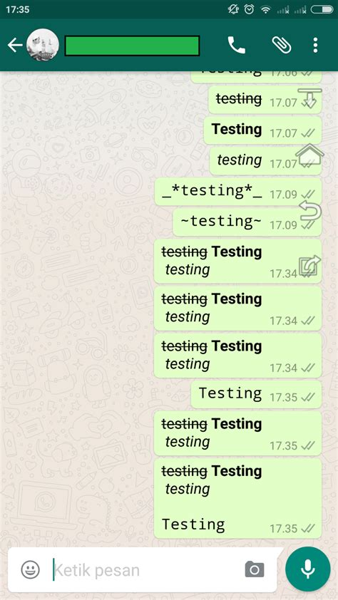 cara menggubah kouta whatsapp menjadi regular cara mudah merubah variasi dan mengganti font di whatsapp