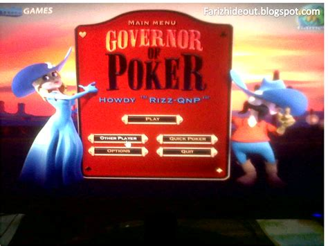 Governor Of Poker 1 Full Version Free Online | governor of poker full version free online notisbya