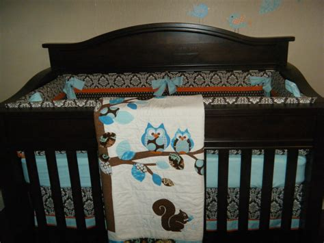 Crib Bedding Owls Theme Baby Landon S Owl Nursery Project Nursery
