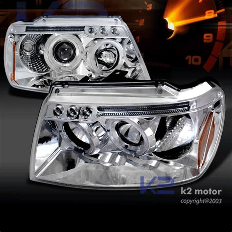1999 Jeep Grand Headlights 1999 2004 Jeep Grand Led Halo Projector