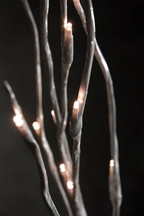 cheap lighted branches battery operated lighted branches 39 in 20 white led battery operated