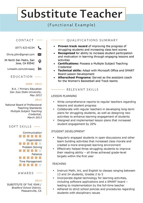 gallery of summary of qualifications resume examples resume template