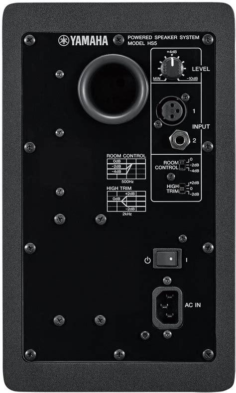 Speaker Yamaha Hs5 yamaha hs5 active powered studio monitor speaker whybuynew co uk