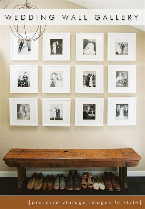 new photographs young gallery display wedding wall gallery papery cakery