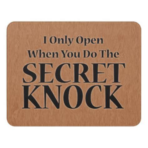 Knock The Door Sign by Door Signs Zazzle