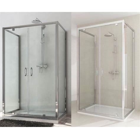 box doccia a 3 lati box doccia a 3 lati doppia porta a saloon h185 198
