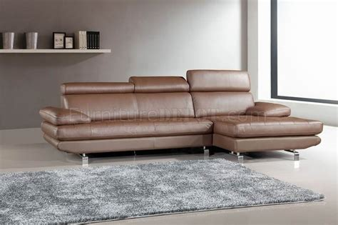 light brown sectional sofa stem sectional sofa by beverly hills in light brown leather