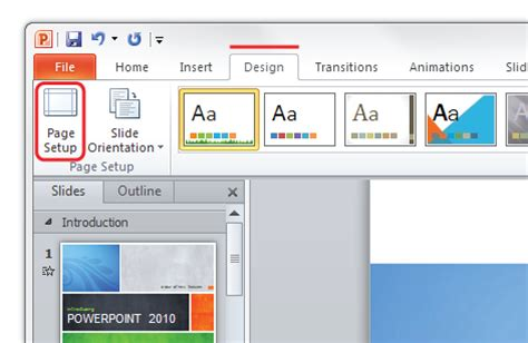 tutorial powerpoint doc microsoft powerpoint tutorial to setup files for print