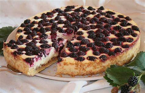 Kuchen Brombeeren Appetitlich Foto F 252 R Sie