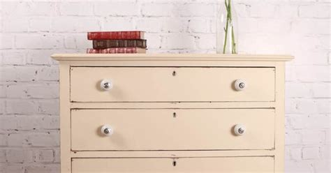 autentico chalk paint stockists scotland vintage shabby chic farmhouse style chest of drawers