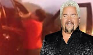 Fieri Hair Dresser by Food Network Fieri In Heated Brawl With His