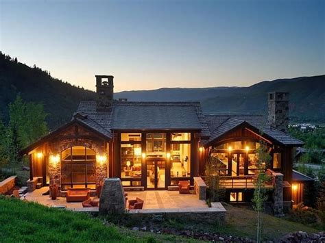 colorado mountain home plans slopeside mountain contemporary home in aspen colorado jpg