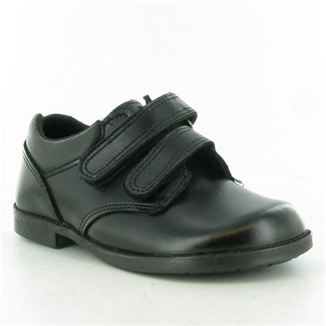 toughees nathan velcro shoes in black