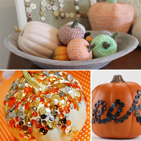 10 Easy No Carve Pumpkin 3 Easy No Carve Pumpkin Decorating Ideas Pictures Photos