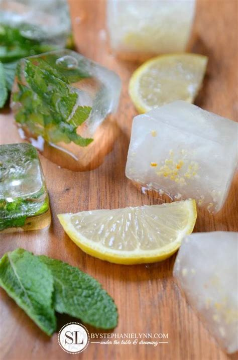 cara membuat infused water lemon dan daun mint 7 resep infused cube dan fruit popsicle yang ampuh