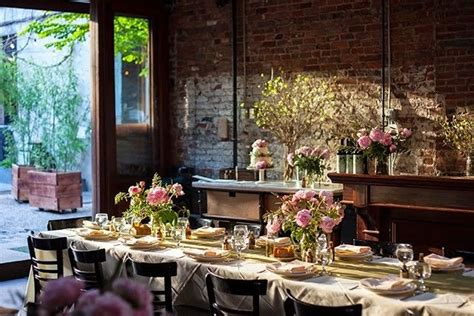 wedding receptions new york city 14 small wedding venues in new york city weddingwire