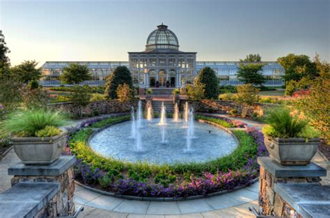 Lewis Ginter Gardens by Surrounding Flowers Just Another
