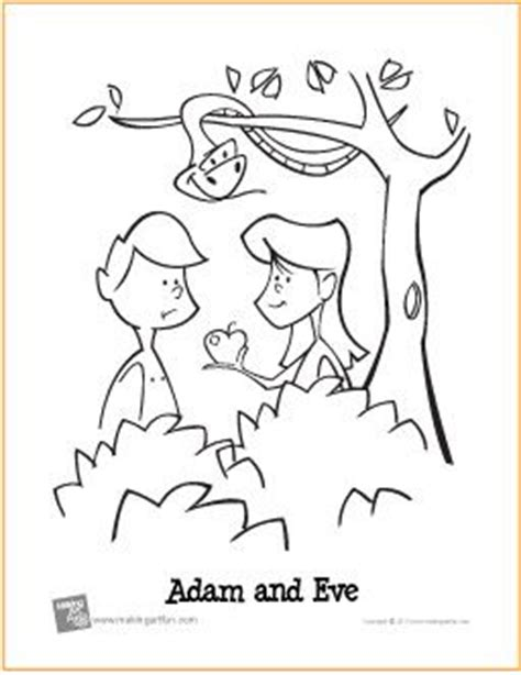 garden of eden printable activity sheets adam and eve garden of eden free printable coloring