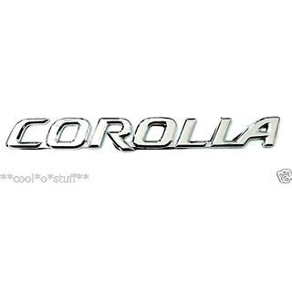 Emblem Altis Corolla By Wiautoshop buy logo corolla monogram emblem chrome for toyota corolla